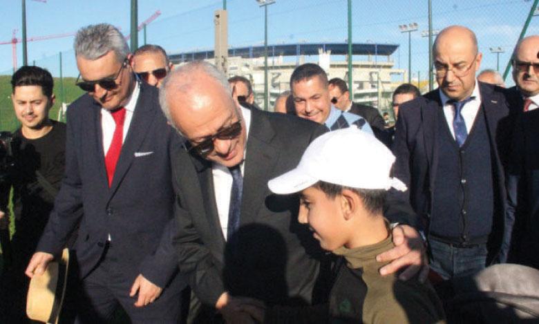 Nourredine El  Harti : «Avec cette annexe,  le TCMT  pourra abriter les grands tournois  internationaux»