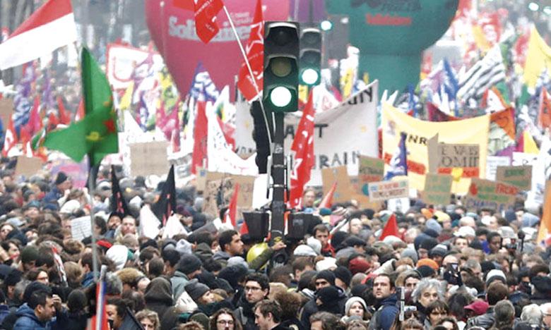 La grève en France se poursuit pour  la 5e journée consécutive