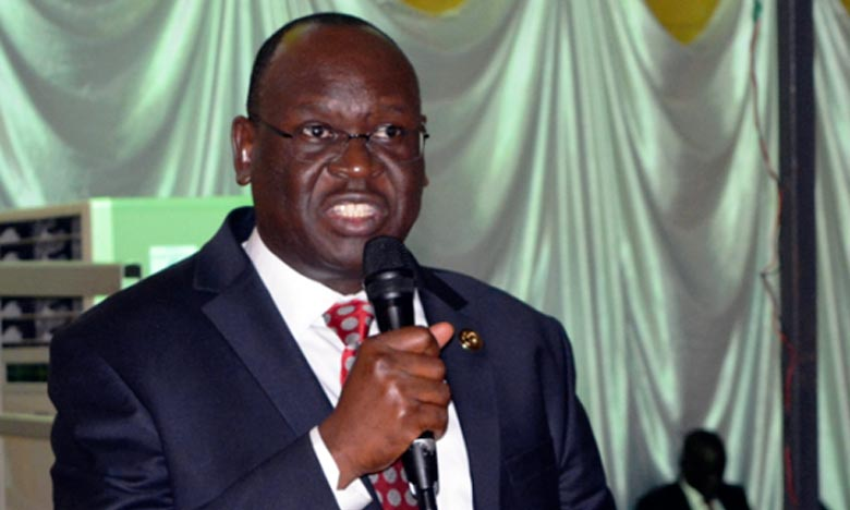 Anthony Lino Makana a présenté sa démission lors d'une réunion du parti au pouvoir à Juba. Ph : DR