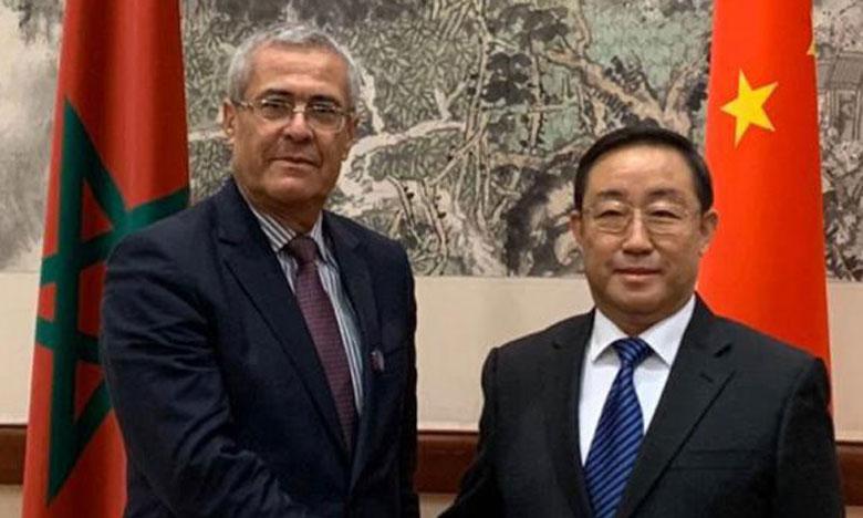 Mohamed Ben Abdelkader souligne en Chine les efforts du Maroc pour la modernisation l'administration judiciaire