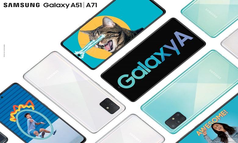 les Galaxy A71 et A51 vous permettent de capturer presque tout ce que vous ressentez et ce dont vous songez. Ph: DR