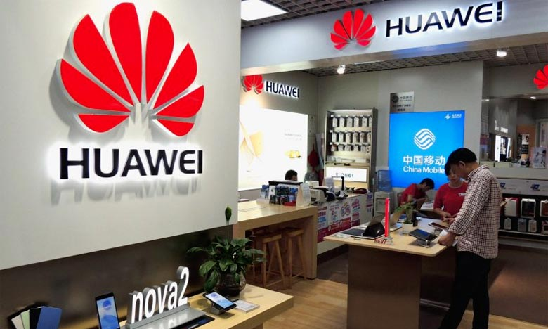 L'année 2019 a été difficile pour le numéro deux mondial du téléphone portable, alors que l'administration Trump a interdit aux entreprises américaines de vendre des équipements à Huawei. Ph : AFP