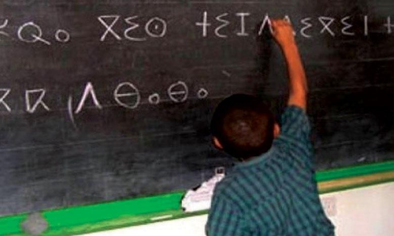 500.000 élèves apprennent la langue  amazighe dans 4.200 établissements scolaires