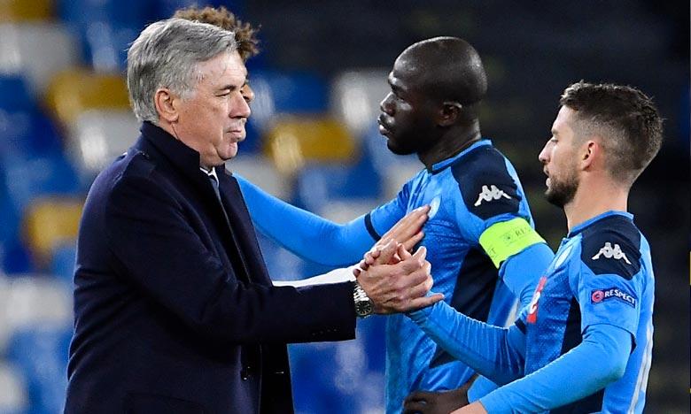 «L'équipe a des qualités mais elle ne les a pas exprimées en championnat, seulement en Ligue des Champions. C'est un grand regret», a estimé Ancelotti l'entraîneur italien. Ph : AFP