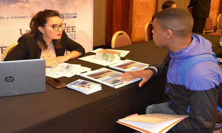 """La cinquième édition du Forum national d'emploi """"Handicap Maroc""""."""
