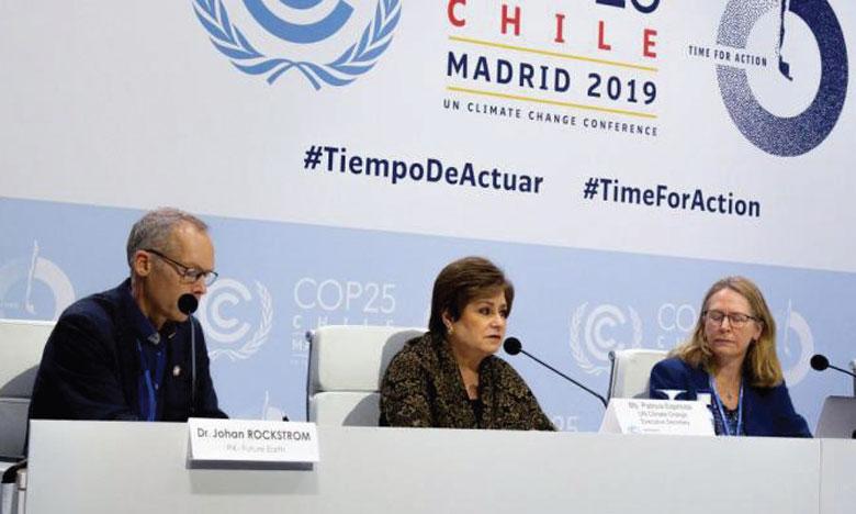 «Les bases de climatologie doivent être comprises par tous», a souhaité, à Madrid lors de la COP 25, la secrétaire exécutive de la Convention-Cadre des Nations unies sur le changement climatique. Ph.ONU