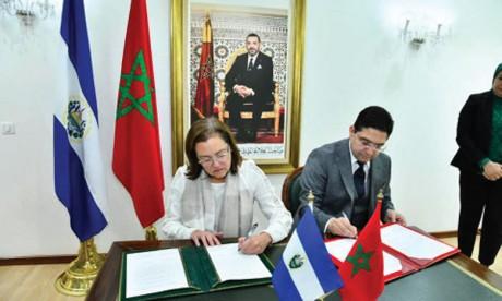 Le Salvador annonce l'ouverture prochaine  de son ambassade au Maroc