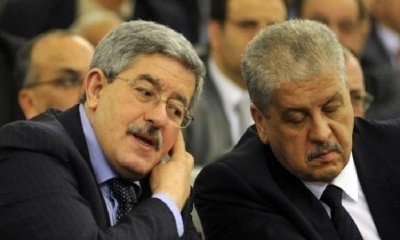 Algérie : Ouyahia et Sellal condamnés à 15 et 12 ans de prison