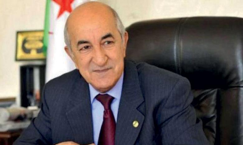 Abdelmadjid Tebboune élu Président  de la République d'Algérie