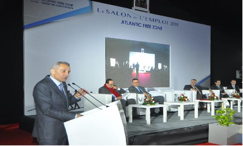 L'inauguration officielle du salon a eu lieu sous la présidence de Moulay Hafid Elalamy, ministre de l'Industrie, du commerce, de l'économie verte et numérique.