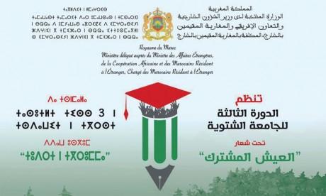 Troisième édition de l'Université d'hiver des jeunes Marocains  du monde