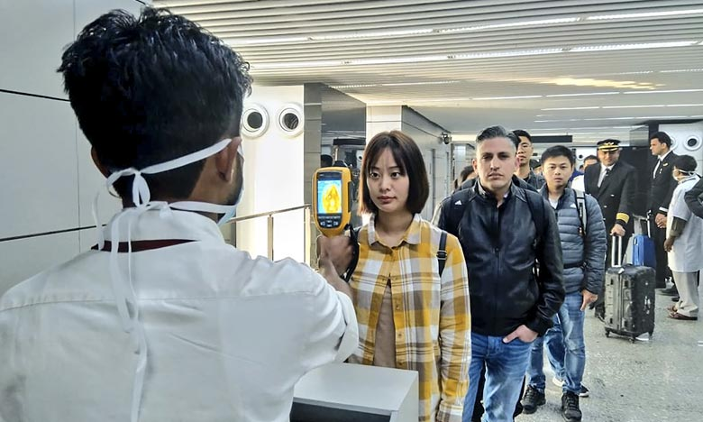 En cas de besoin d'assistance consulaire ou d'informations supplémentaires, les Marocains résidents en Chine sont invités à contacter l'ambassade. Ph : AFP