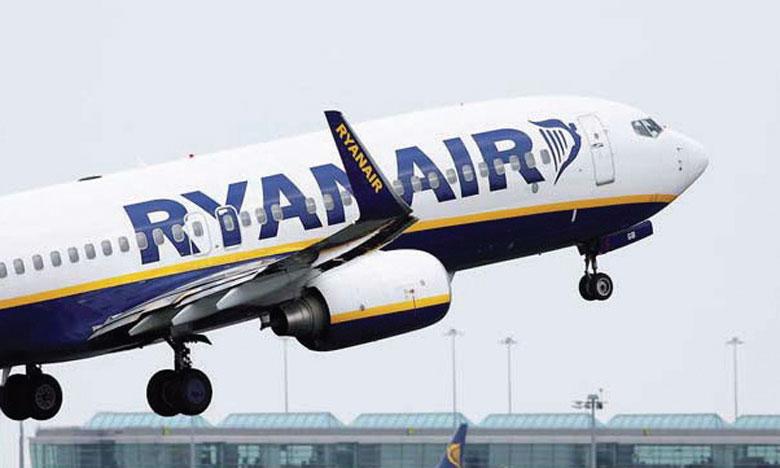 Ryanair avait réduit le mois dernier sa prévision de trafic pour l'exercice 2020-2021 à 156 millions de voyageurs.