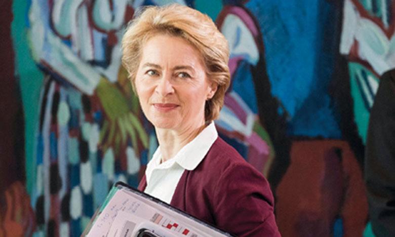 260 milliards d'euros supplémentaires par an sont nécessaires au Pacte Vert de la présidente de la Commission Ursula von der Leyen.             Ph. AFP