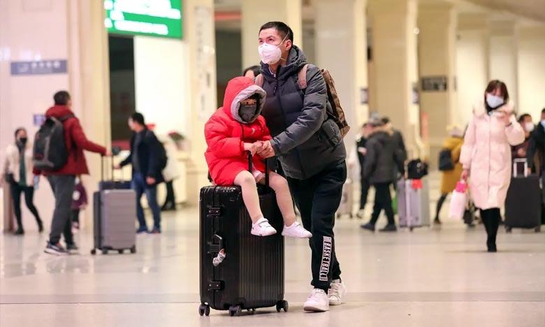 Le nouveau coronavirus qui frappe la Chine, qui se transmet par les voies respiratoires,  pourrait muter et se propager plus facilement. Ph :  AFP