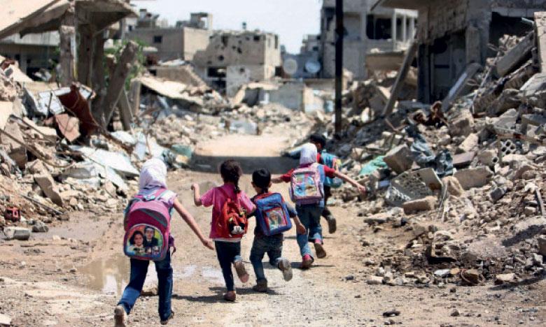 L'armée syrienne annonce avoir repris une ville clé