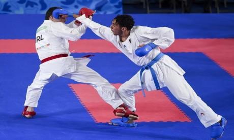 Karaté:  deux  Marocains remportent le bronze à Santiago 2020
