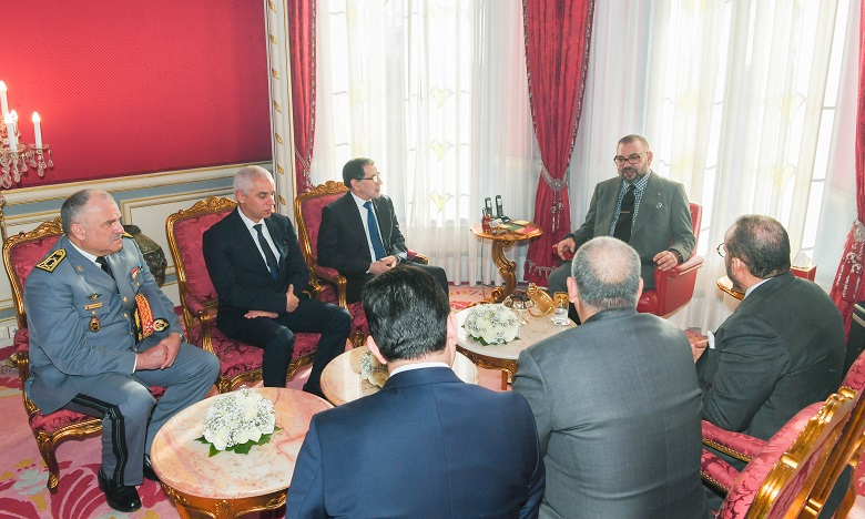 S.M. le Roi Mohammed VI donne Ses Très Hautes Instructions pour le rapatriement de la centaine de ressortissants marocains se trouvant dans la province chinoise de Wuhan, mise en quarantaine par les autorités chinoises à cause du coronavirus