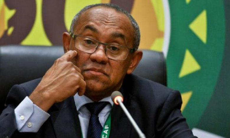 Ahmad Ahmad, président de la CAF.
