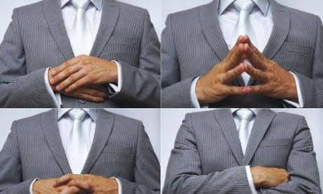 Il y a bel et bien des signes qui montrent que l'interlocuteur est en train de mentir, mais il faut être très prudent en utilisant la synergologie dans la détection des mensonges. Ph. Shutterstock