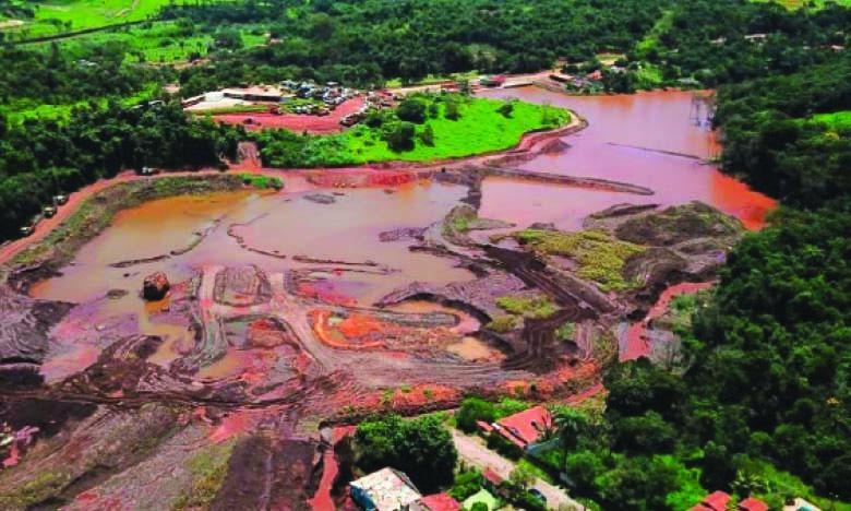 Les fleuves de la région de Brumadinho toujours très pollués