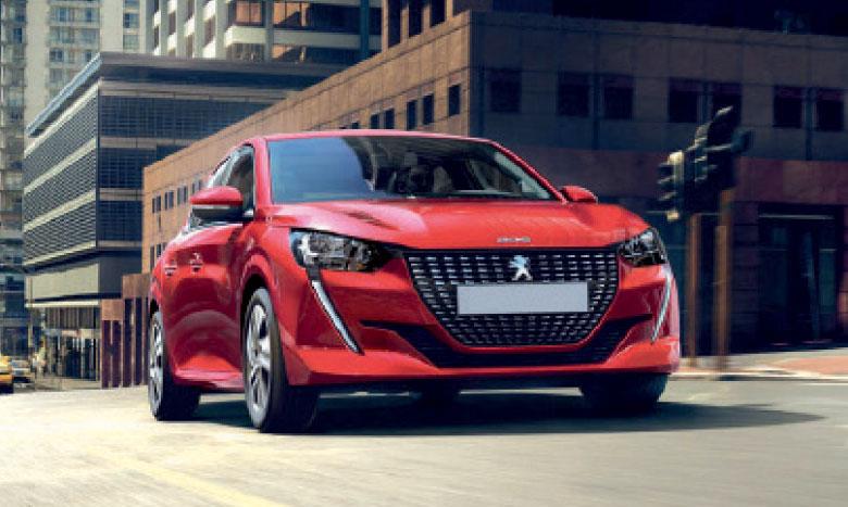 Peugeot 208, sacrée Voiture de l'année 2020 au Maroc