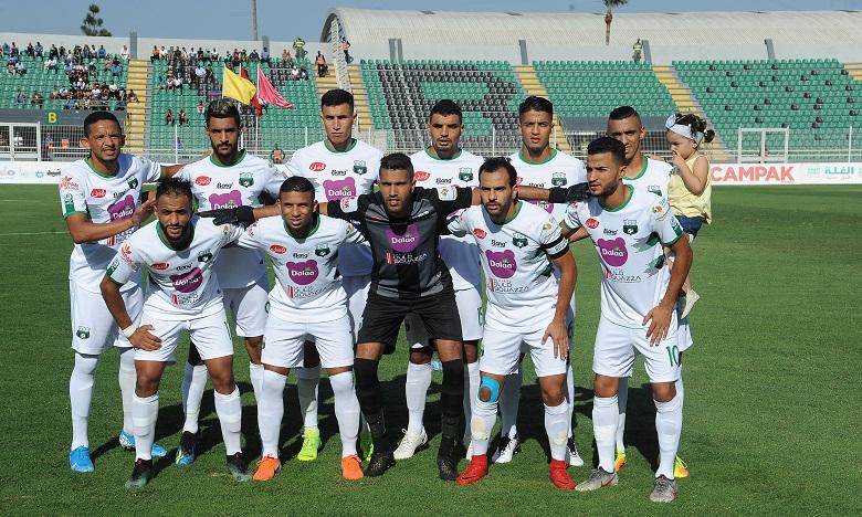 Au terme de la rencontre, le Club Athletic Youssoufia Berrechid s'est hisse à la douzième position du classement avec 11 points. Ph : Seddik
