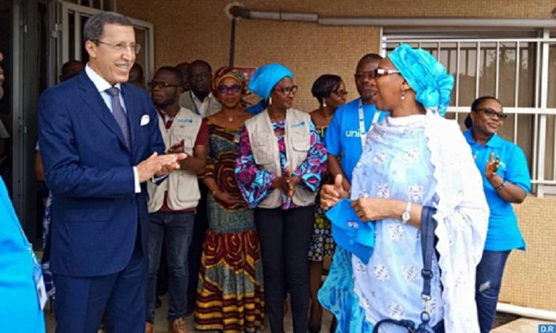 Le président du Togo reçoit en audience Omar Hilale