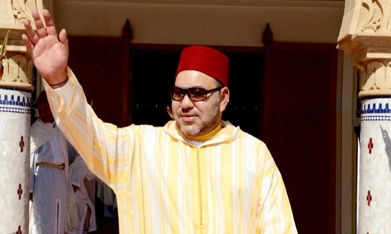 S.M. le Roi, Amir Al-Mouminine, accomplit la prière du vendredi  à la Mosquée Lalla Amina à Essaouira