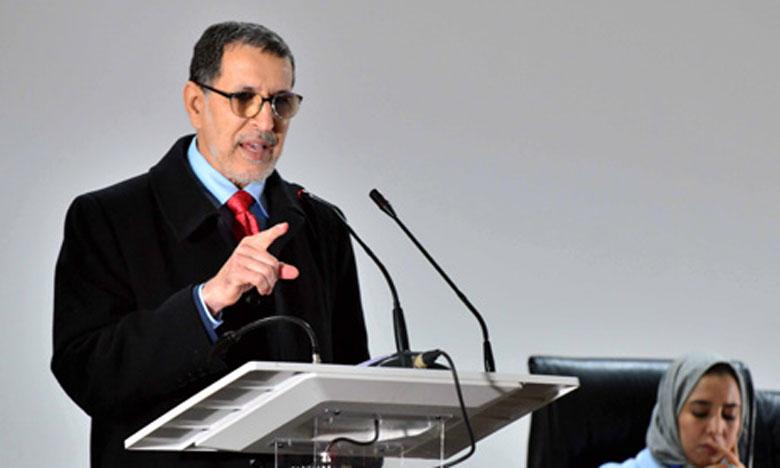 Saâd Eddine El Othmani : Le choix démocratique est l'une des constantes constitutionnelles  et fondamentales du Royaume