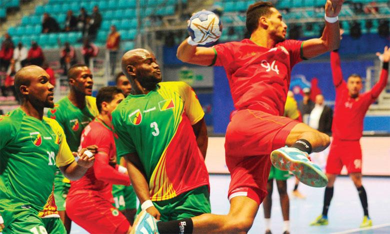 Le Maroc entame la compétition par une victoire face au Congo