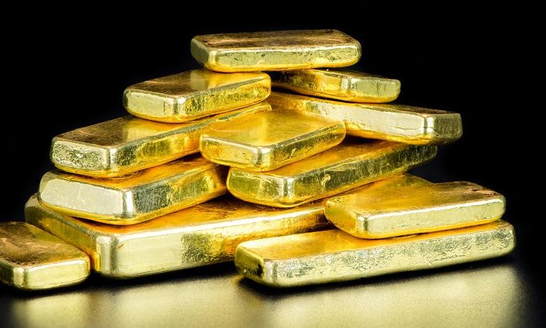Le métal précieux a poursuivi sa hausse lundi, atteignant à l'ouverture 1.588,13 dollars l'once. Ph. Shutterstock