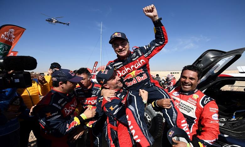 Dakar2020/Auto : l'Espagnol Carlos Sainz sacré pour la troisième fois
