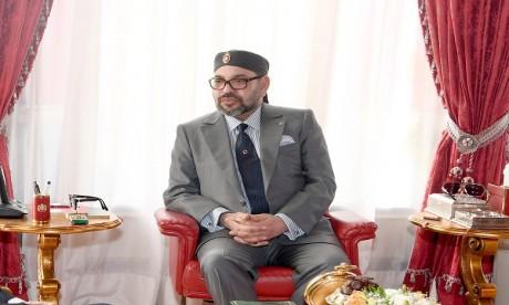 Entretien téléphonique entre S.M. le Roi Mohammed VI et le président de la République tunisienne