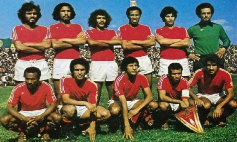 Chebbak a joué avec l'équipe nationale qui remporté la Coupe d'Afrique des Nations en 1976.