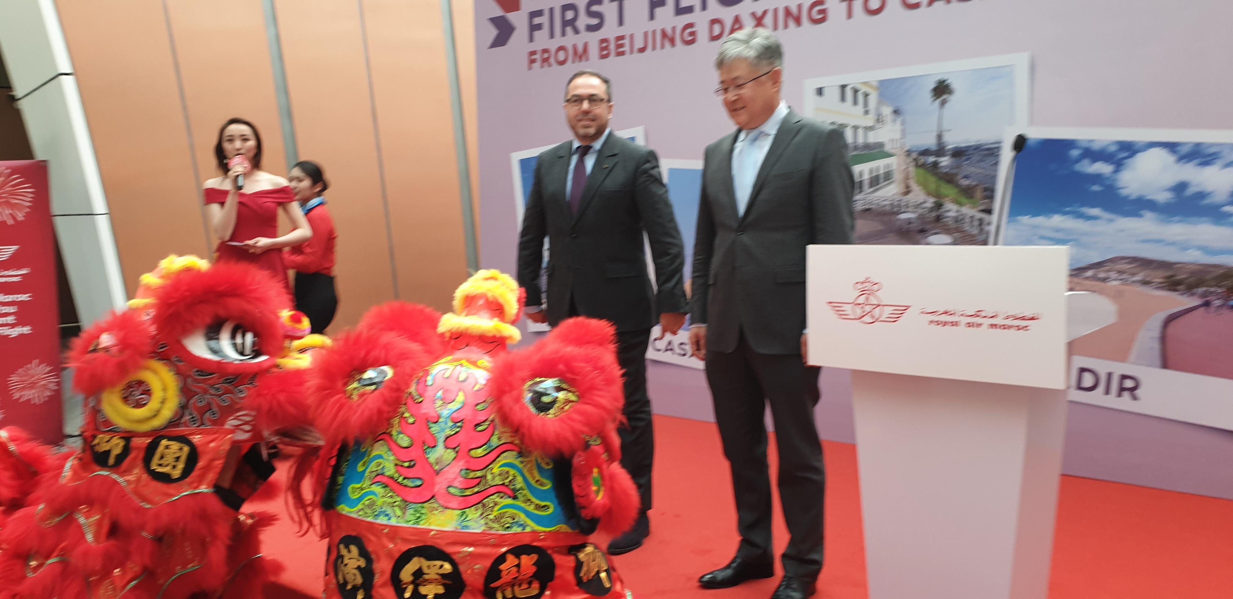 La RAM inaugure son premier vol direct Casablanca-Pékin