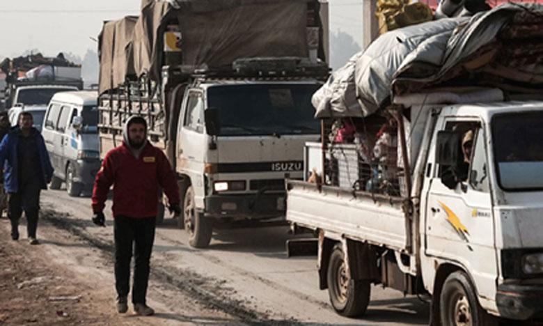 Damas en passe de prendre  une ville clé à Idleb