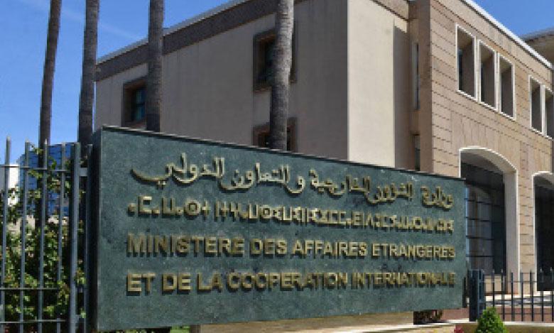 Le Maroc apprécie les efforts de l'administration américaine et forme le souhait qu'une dynamique constructive de paix soit lancée