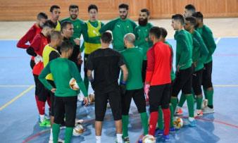 Les Lions de l'Atlas effectuent leurs premières séances d'entraînement à Laâyoune