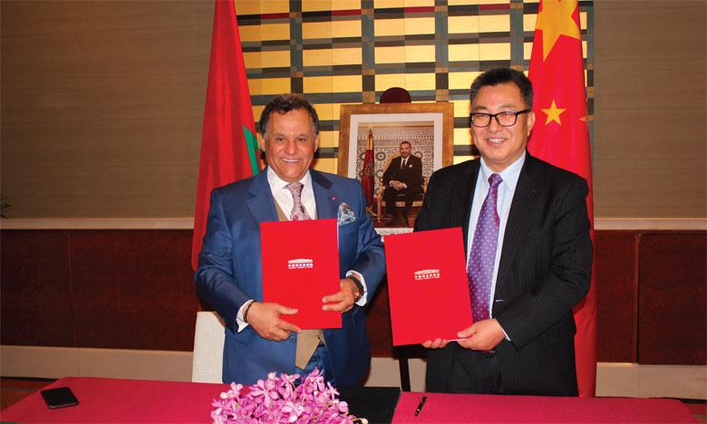 Signature de deux accords de coopération entre  la FNMM et le Musée national de Chine