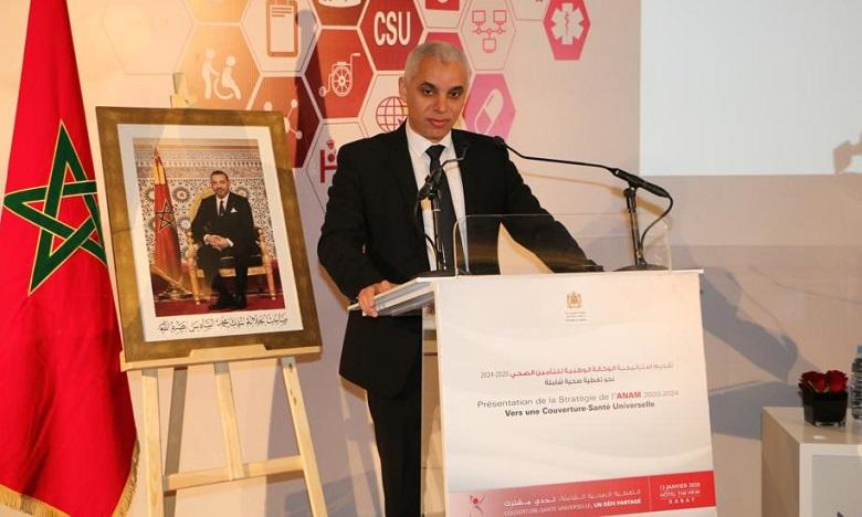Ce plan s'inscrit pleinement en ligne avec les Hautes Orientations Royales appelant à atteindre l'objectif de la couverture sanitaire universelle à l'horizon 2030. Ph. DR