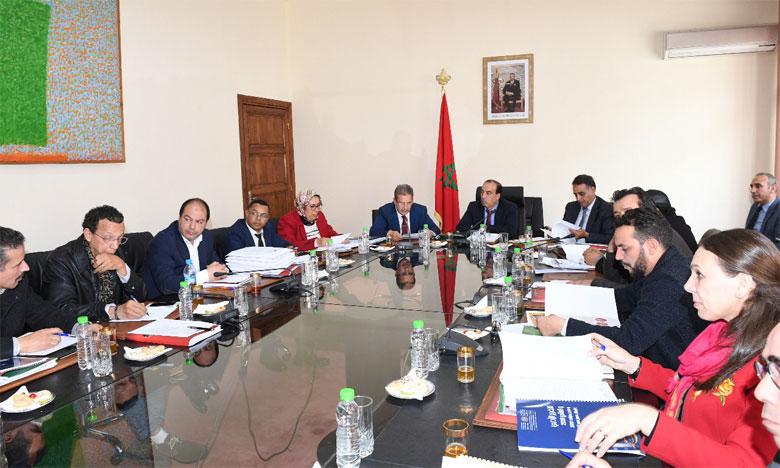 Le Théâtre national Mohammed V tient son conseil d'administration
