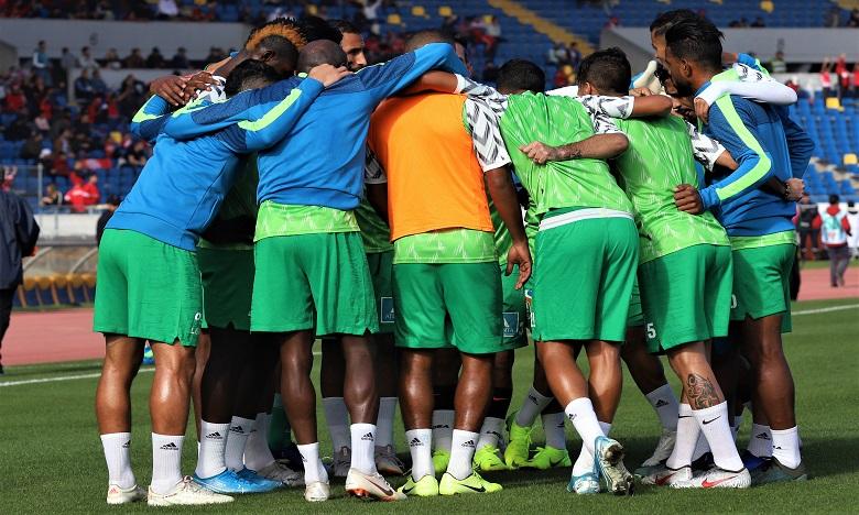 Le Raja et le Mouloudia d'Oujda se quittent sur un score nul (1-1)