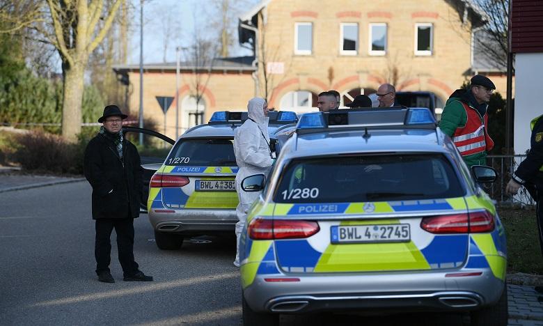 La fusillade, dont l'auteur présumé a été arrêté, s'est produite à la mi-journée dans la région proche de Stuttgart. Ph. AFP