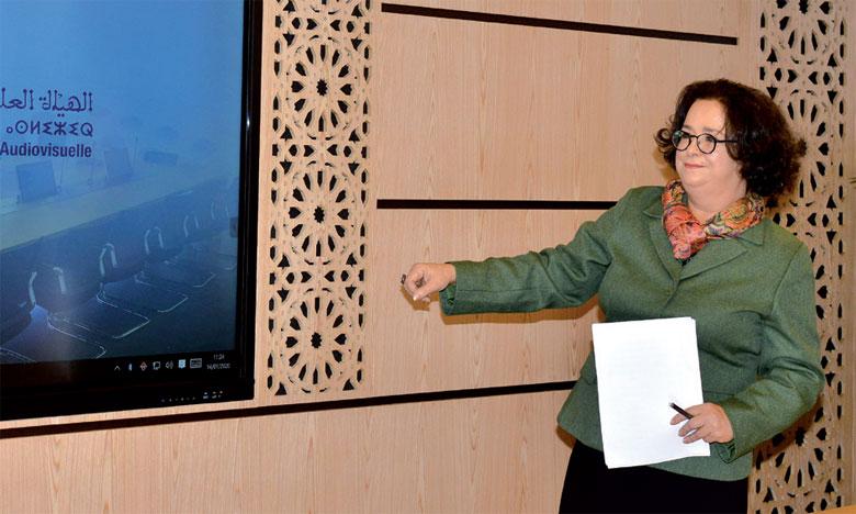 La présidente de la HACA présente les grandes orientations du Conseil national de la communication audiovisuelle