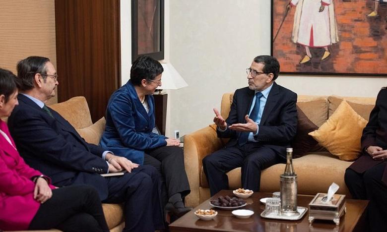 La ministre des Affaires étrangères espagnole au Maroc