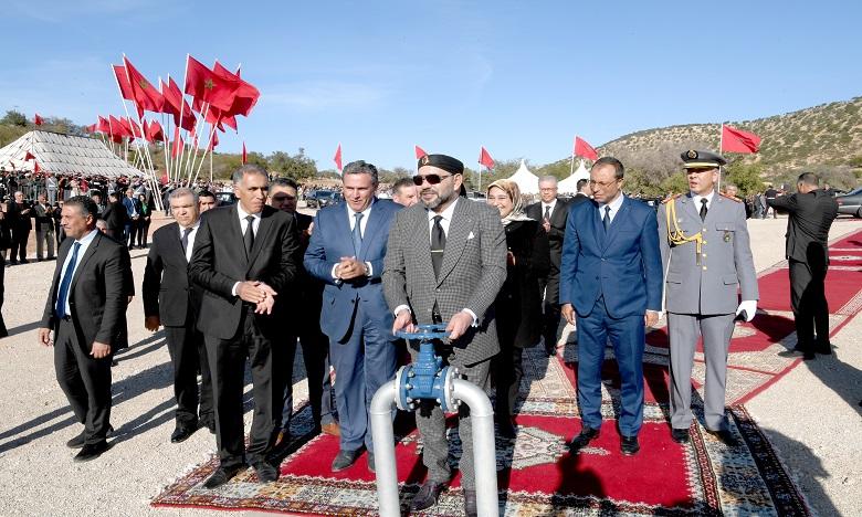 Des projets hydrauliques, hydro-agricoles et d'eau potable dans la province d'Essaouira consacrant la Vision Royale d'un développement durable et intégré du monde rural