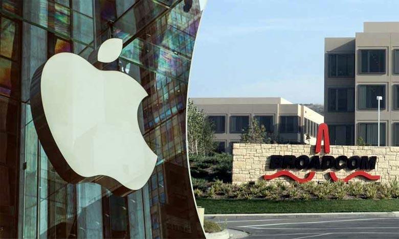 Les sociétés Apple et Broadcom ont tous deux indiqué qu'elles envisageaient de faire appel de ce jugement. Ph : DR
