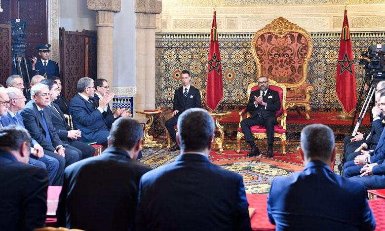 S.M. le Roi préside la cérémonie de signature de la convention-cadre pour la réalisation du Programme national d'approvisionnement en eau potable et d'irrigation 2020-2027