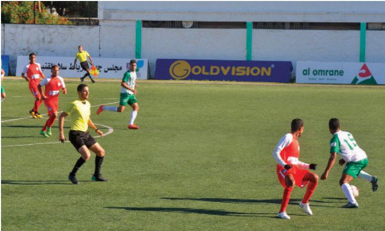 Le Stade marocain prend  les commandes